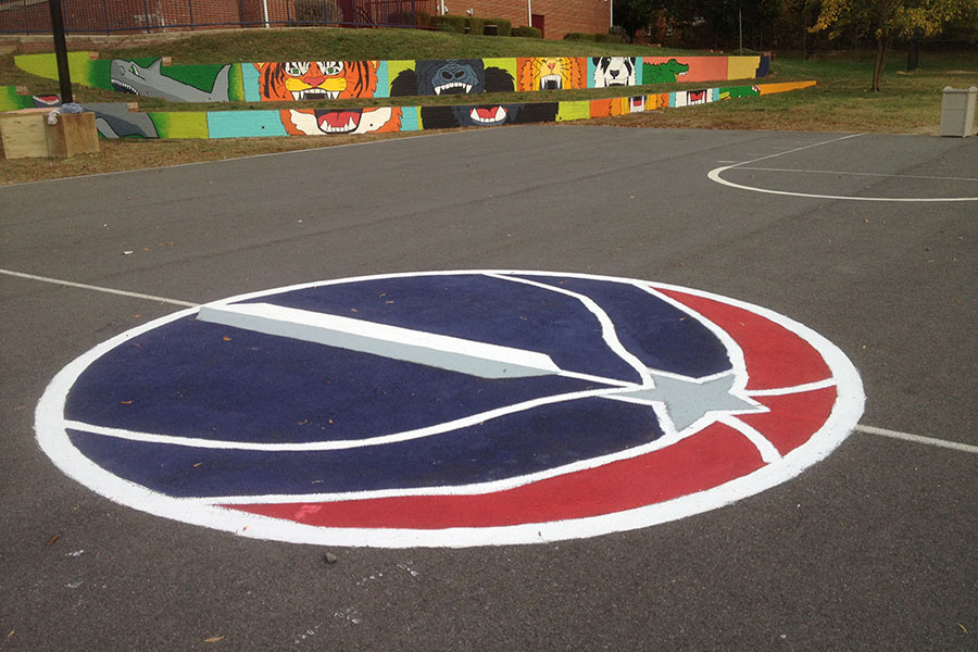 Best Paint For Concrete Basketball Court