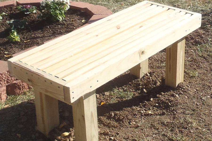 How To Build a Deck Bench | KaBOOM!